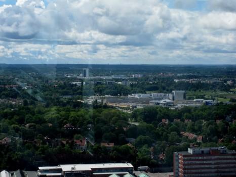 11 IMG_0866 Utsikt från Globen mot sydväst, Värnamo i fjärranfjärran!
