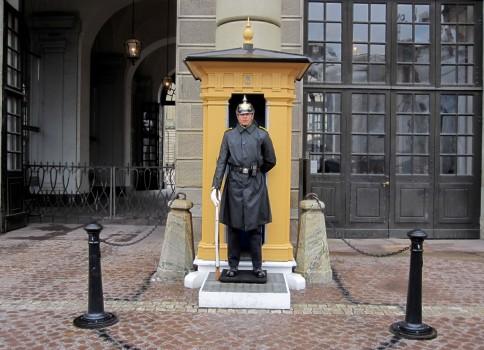 2 IMG_0792 Stockholms slott, vaktavlösning med musik, uniform modell  1887