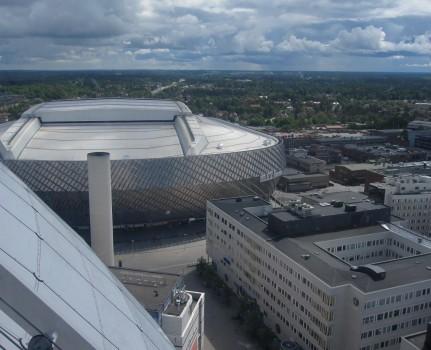 7 IMG_0858 Tele2 Arena från glasgondolen på Globen