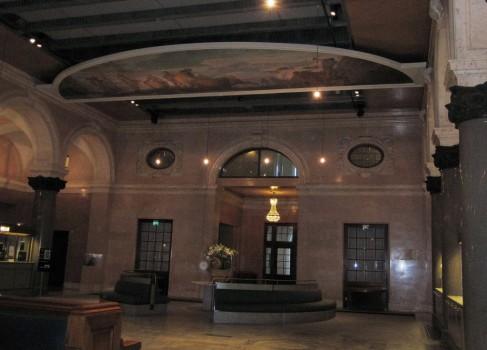8 IMG_0797 Riksdagshuset, Stockholm, bilden visar ankomsthallen som är riksdagens entréhall och centrala mötesplats