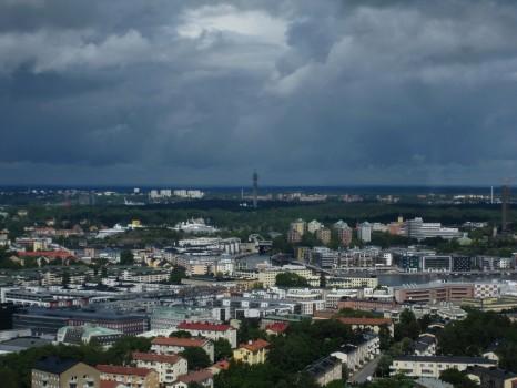 9 IMG_0862 Utsikt från Globen mot norr