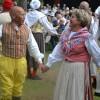 Anders och Monica Matsson premiärdansade i Byarum.