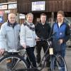 Från vänster: Göran Krantz, Annelie Emilsson, Carl Carlsson och Christer Carlsson.