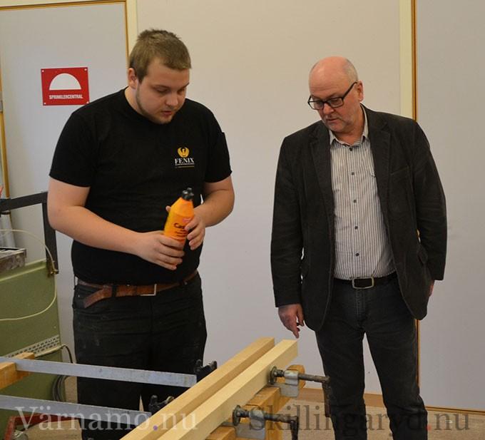 Tim Gauffin-Andersson mötte riksdagsmannen.