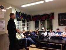 Torbjörn Klaesson berättade på UC om droger och om sitt liv.
