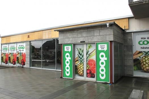 Coop-butiken i Vaggeryd kommer invigas framåt senhösten 2015