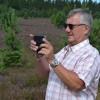 Lennart Karlsson förevigar vandringen.