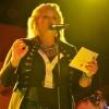 Annelie Jonsson höll igång från scenen.