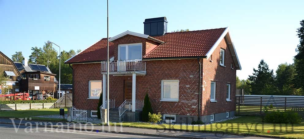 """Söderlunds-huset har bytt utseende vid flera tillfällen men har i stora drag behållit """"grundutseendet."""""""