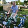 Göran Melin återståg sin gamla moppe som numera ägs av Sven Nord och som idag är värd minst 100  gånger än vad Göran gav för den, nämligen 250 kronor.