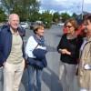 """Syskonen Klas """"Spader"""" Johansson och Veronica Kärnhall mötte syskonen Inger Eskilsson och Yvonne Bejstorp."""